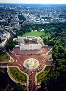 Букингемский дворец королевская