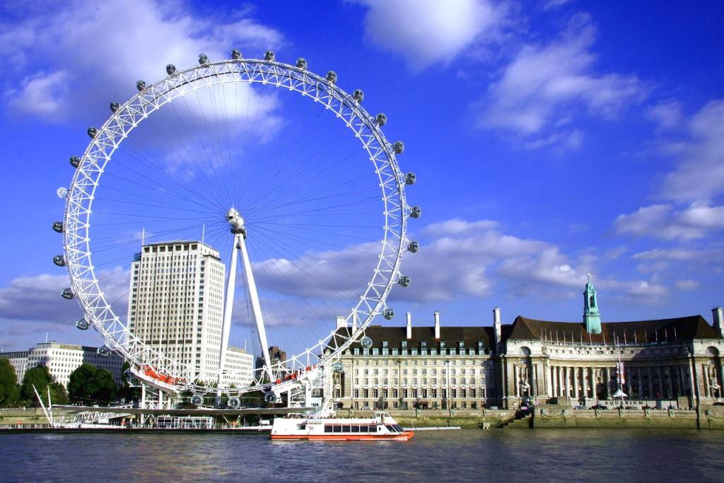 Достопримечательности Лондона: Лондонский глаз