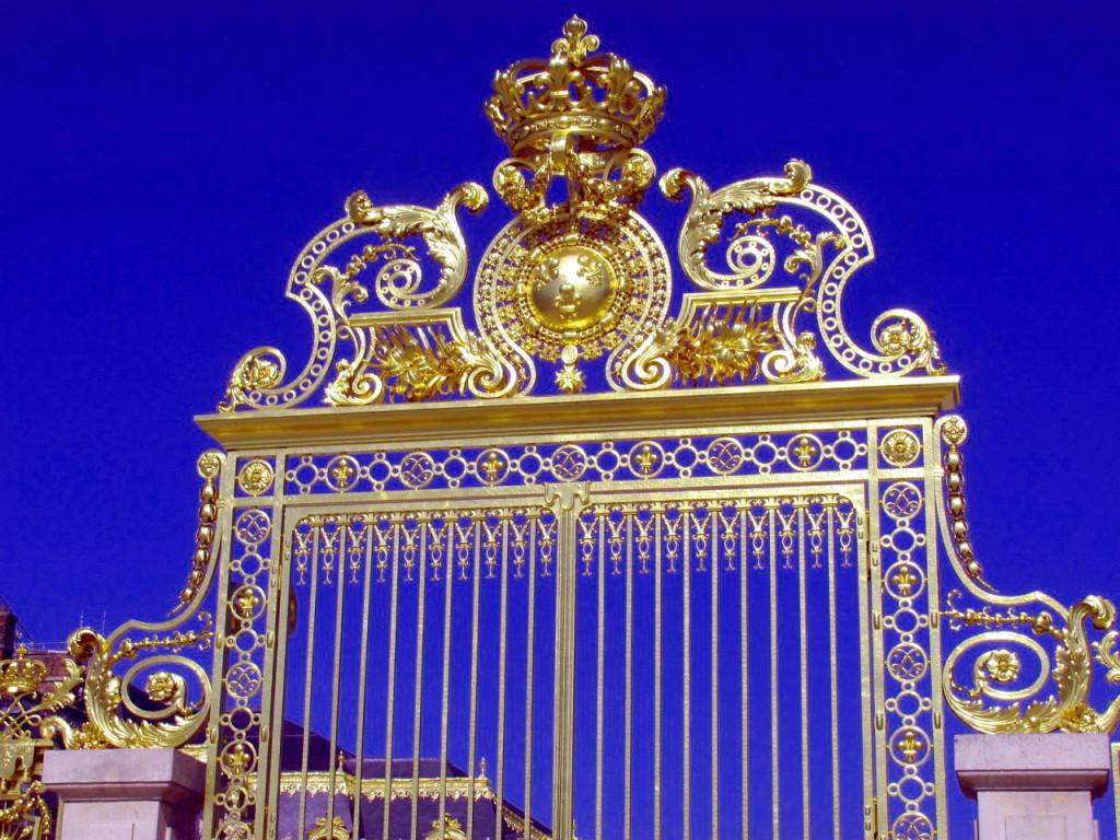 ворота в Версаль!