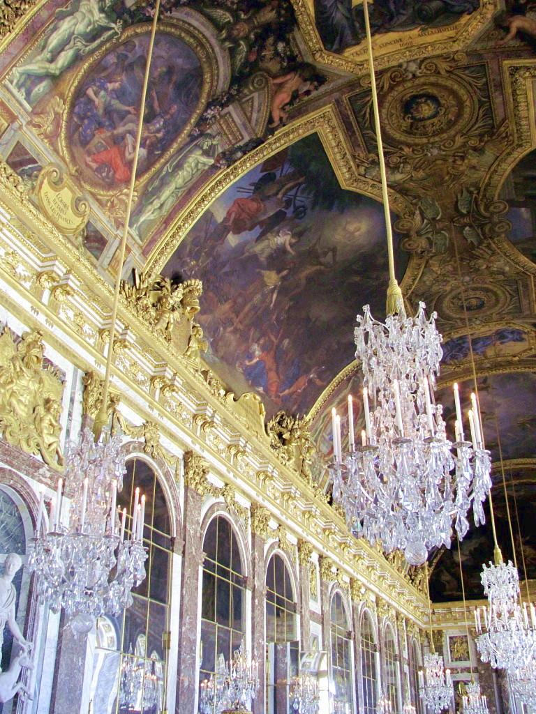 Зеркальный зал в Версале