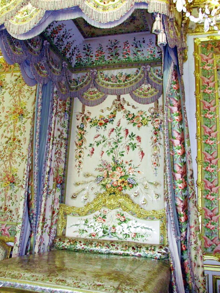 Спальня Марии-Антуанетты в Версале