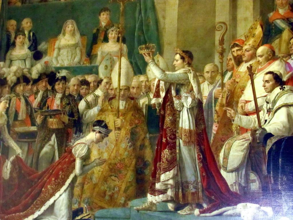 """""""Коронация Жозефины"""" во дворце Версаль"""