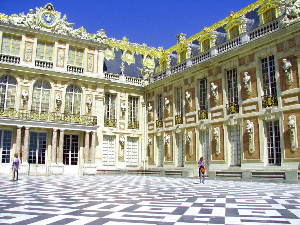 Знаменитый шахматный зал Версаля
