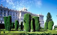 Сады Сабатини – оправа Королевского дворца Мадрида (Испания)