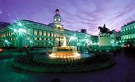 Пуэрта-дель-Соль – главная площадь Мадрида (Испания)