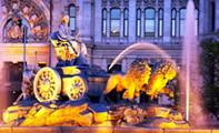 Фонтан Сибелес – гордость и достопримечательность Мадрида (Испания)