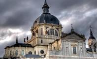 Кафедральный собор Альмудена в Мадриде (Испания)