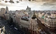 Гран Виа – главная артерия Мадрида (Испания)