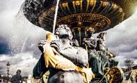 Фото фонтанов Парижаne