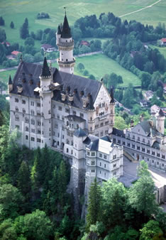Замок Нойшванштайн (Германия)