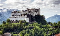 Крепость Хоэнзальцбург (Зальцбург, Австрия)