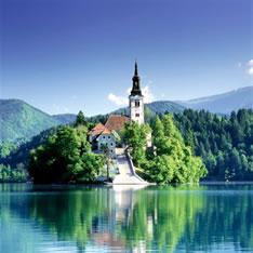 Озеро Блед (курорт Блед, Словения)