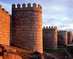 Город Авила, Испания