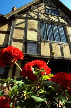 Стрэтфорд-на-Эйвоне - родина Шекспира