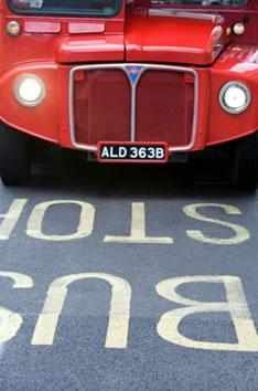 Красные автобусы Лондона