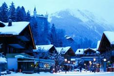 Гштаад - отдых в Швейцарии