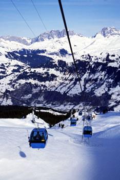 Горнолыжный курорт Давос (Швейцария)