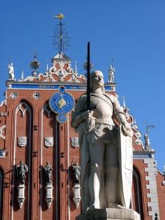 Дом Черноголовых в Риге (Латвия)