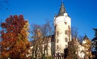 Замок Жлебы в Чехии