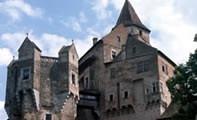 Замок-крепость Пернштейн в Чехии