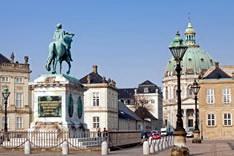 Дворец Амалиенборг в Копенгагене