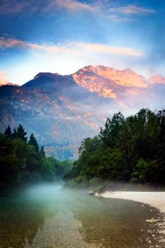 Озеро Бохинь (Словения)