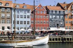 Набережная Нюхавн в Копенгагене