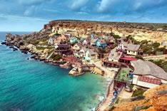 Деревушка Попай - голливудская декорация (Мальта)