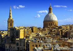 Католические храмы Валлетты (Мальта)