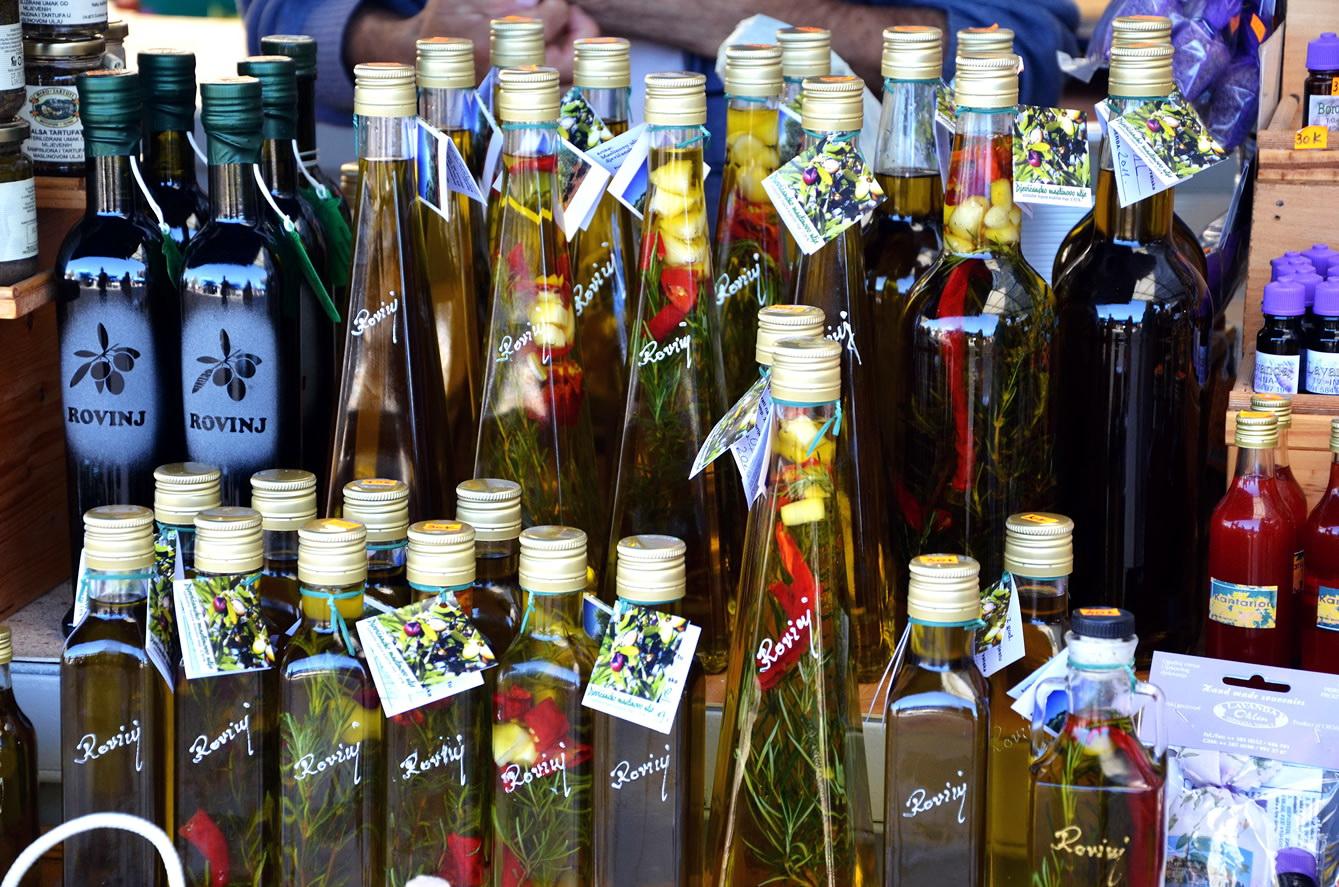 Сувениры из Хорватии - оливковое масло