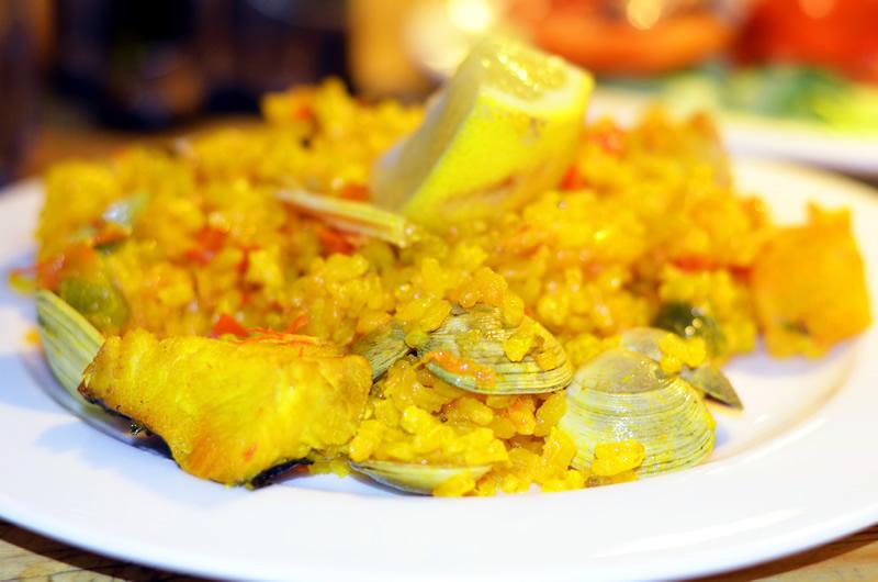 Испанская кухня: паэлья