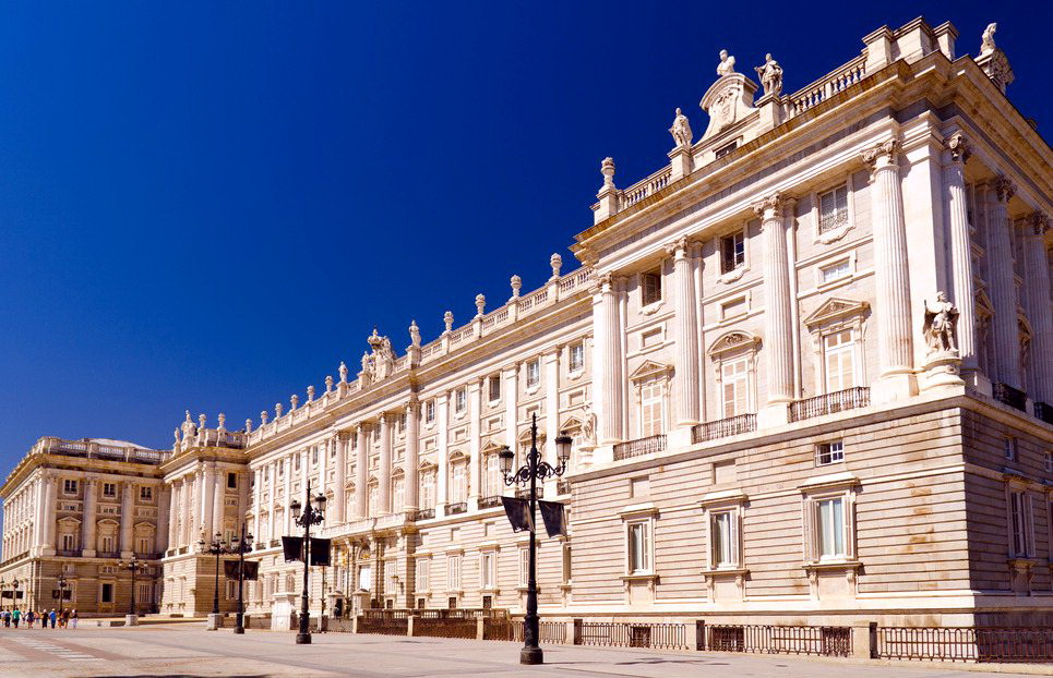 Испания Королевский дворец в Мадриде