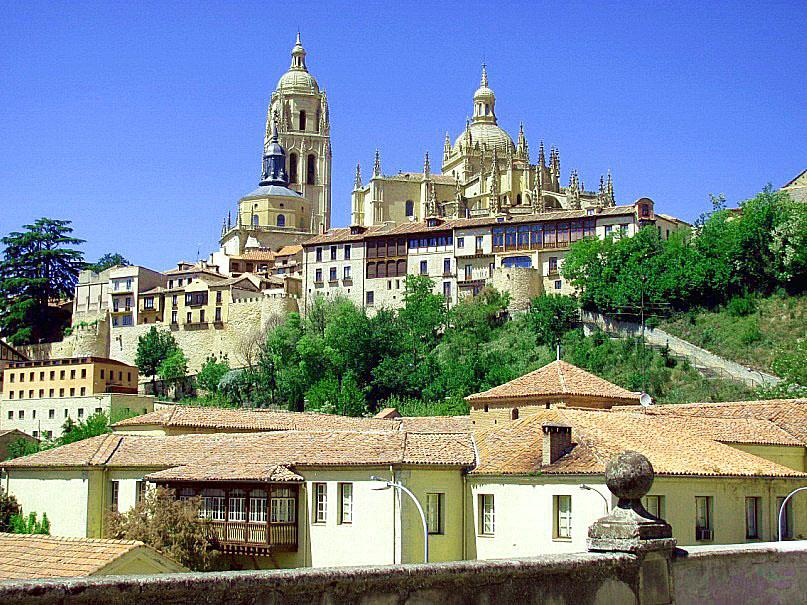 Путешествие по Испании: замок в Сеговии