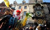 Богемский карнавал в Праге