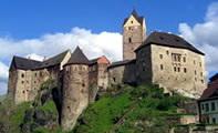 Замок-крепость Точник в Чехии
