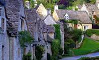 Деревня Бибери в Англии