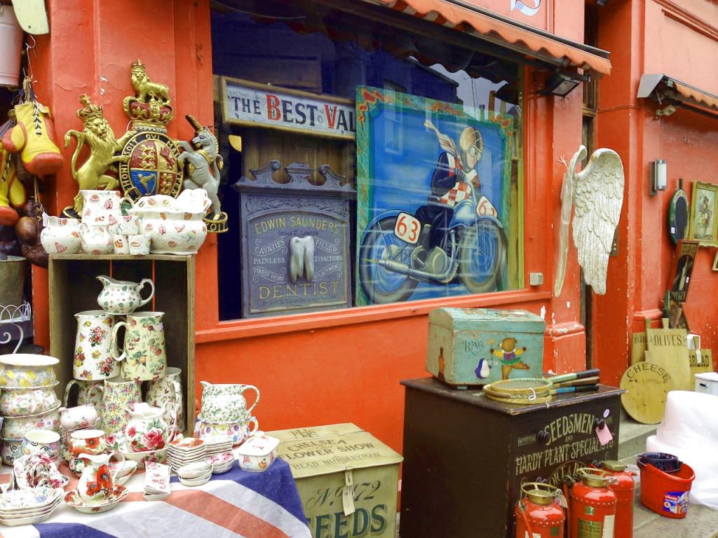 Магазины в Ноттинг-Хил, Лондон