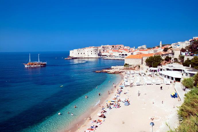 Пляж Банье (Дубровник)