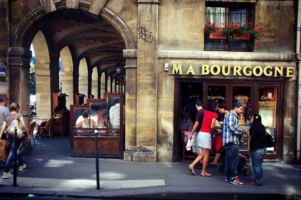 Площади Парижа