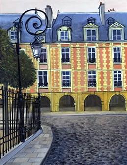 Площадь Вогезов – гордость Парижа