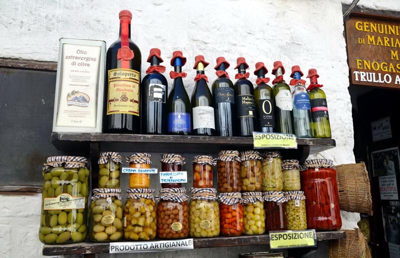 Сувениры из Альберобелло (Alberobello, Italy, food)