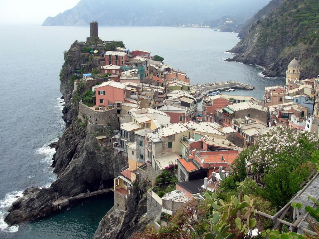Удивительно красивый уголок Лигурийского побережья Италии