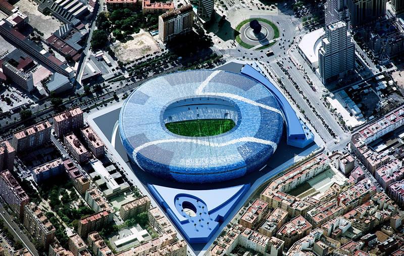 Достопримечательности Валенсии: футбольный стадион