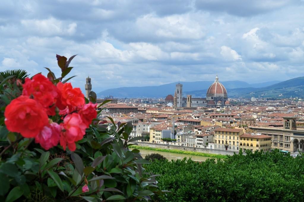 Площадь Микеланджело Флоренция (Piazzale Michelangelo)