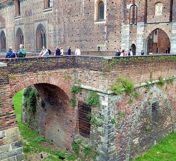 Милан: замок Сфорца