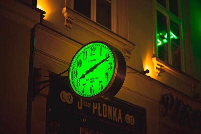 Прогулка по ночному Кракову (Польша)
